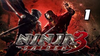 Ninja Gaiden 3 Walkthrough - Part 1 [Day 1 London UK]  Prologue PS3 XBOX (Gameplay/Commentary)