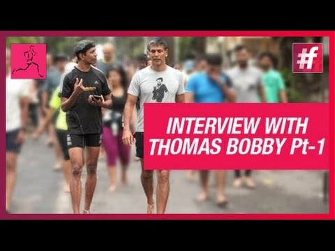 IRONMAN Milind Soman Running Tips For Beginners | Interview with Thomas Bobby Philip - Part 1