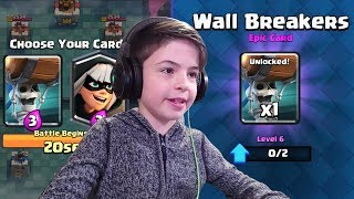 WALL BREAKERS UNLOCKED! - DRAFT CHALLENGE - Clash Royale