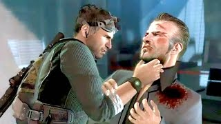 Splinter Cell Conviction Stealth Gameplay - Stealth Kills & Takedowns