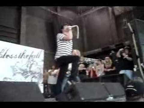 blessthefall  Rise Up WARPED TOUR 2007 ATLANTA
