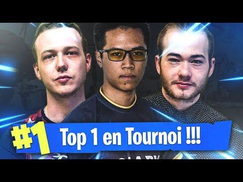 SOLARY TOP 1 EN TOURNOI SUR FORTNITE BATTLE ROYALE (POV LUNARY-SOLARY)