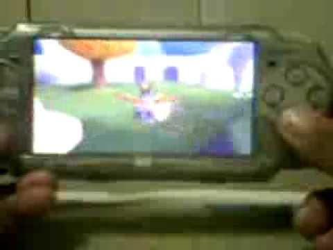 Spyro 2 ripto's rage on PSP