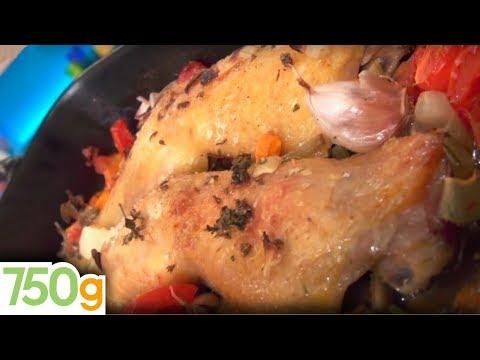 recette-de-cuisses-de-poulet-au-four---750g