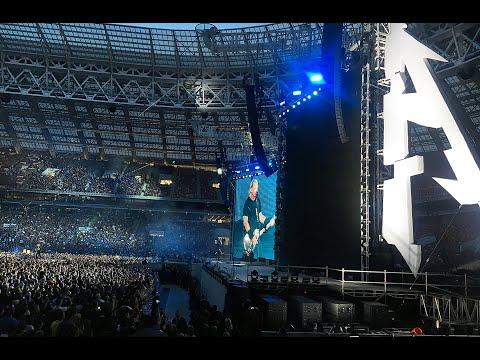 """Metallica на концерте в Москве исполнила песню """"Группа крови"""" Виктора Цоя"""
