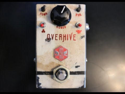 Beetronics Overhive Overdrive Video Demo By Shawn Tubbs
