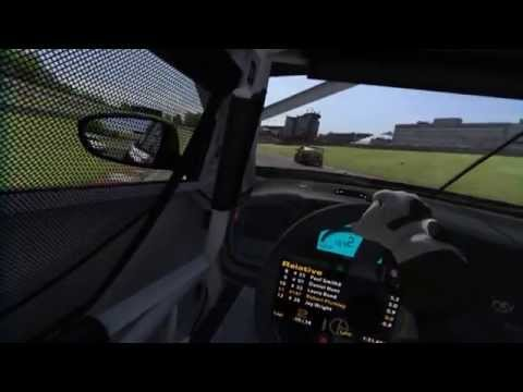 iRacing BSRTC Pro Practice Race at Brands Hatch GP with Oculus Rift DK2