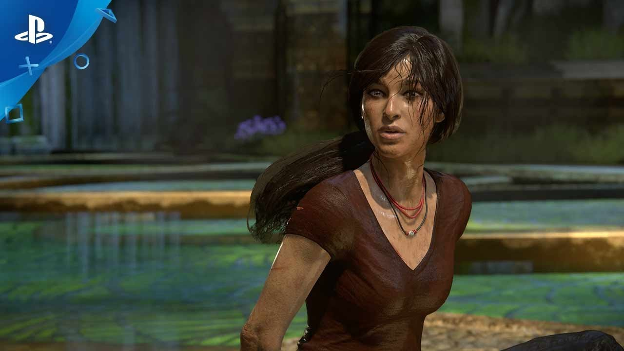 uncharted the lost legacy launch trailer ps4 youtube