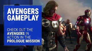 Marvel's Avengers Gameplay - A-Day Prologue 18-Minutes Gamescom 2019 Trailer