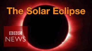 Video Solar Eclipse: 'Breathtaking' views witnessed by millions - BBC News download MP3, 3GP, MP4, WEBM, AVI, FLV Juli 2018