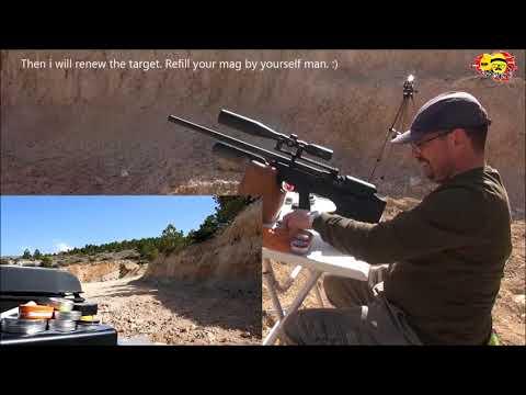 Hatsan Hercules Bully  .25 (6.35mm)  PCP Air Rifle  With English Subtitles