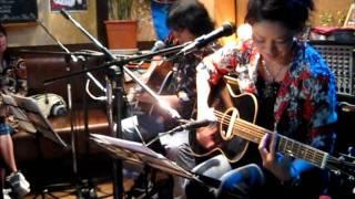2008年10月4日 初の師弟コンビ ライブ Nacomi (g&v) 塩次伸二(g) ...