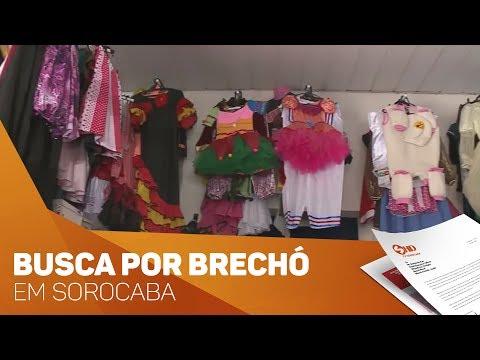 Cresce procura por brechós - TV SOROCABA/SBT