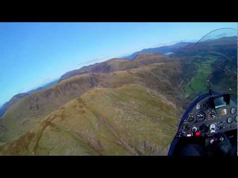 Lake District  Trip in a Gyrocopter MT-03 UK in HD