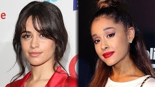 Camila Cabello Hilariously REACTS To Ariana Grande's Engagement News