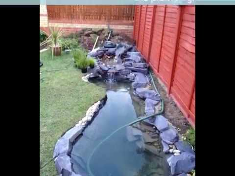 My Awesome Koi Pond Build