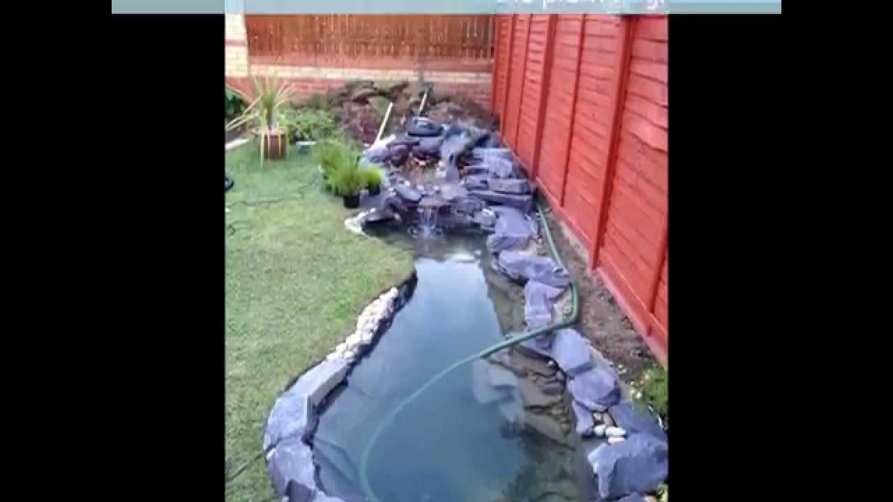 My awesome koi pond build youtube for Awesome koi ponds