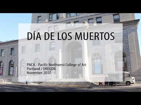 American art: DÍA DE LOS MUERTOS /  PNCA Pacific Northwest College of Art / Portland / OREGON