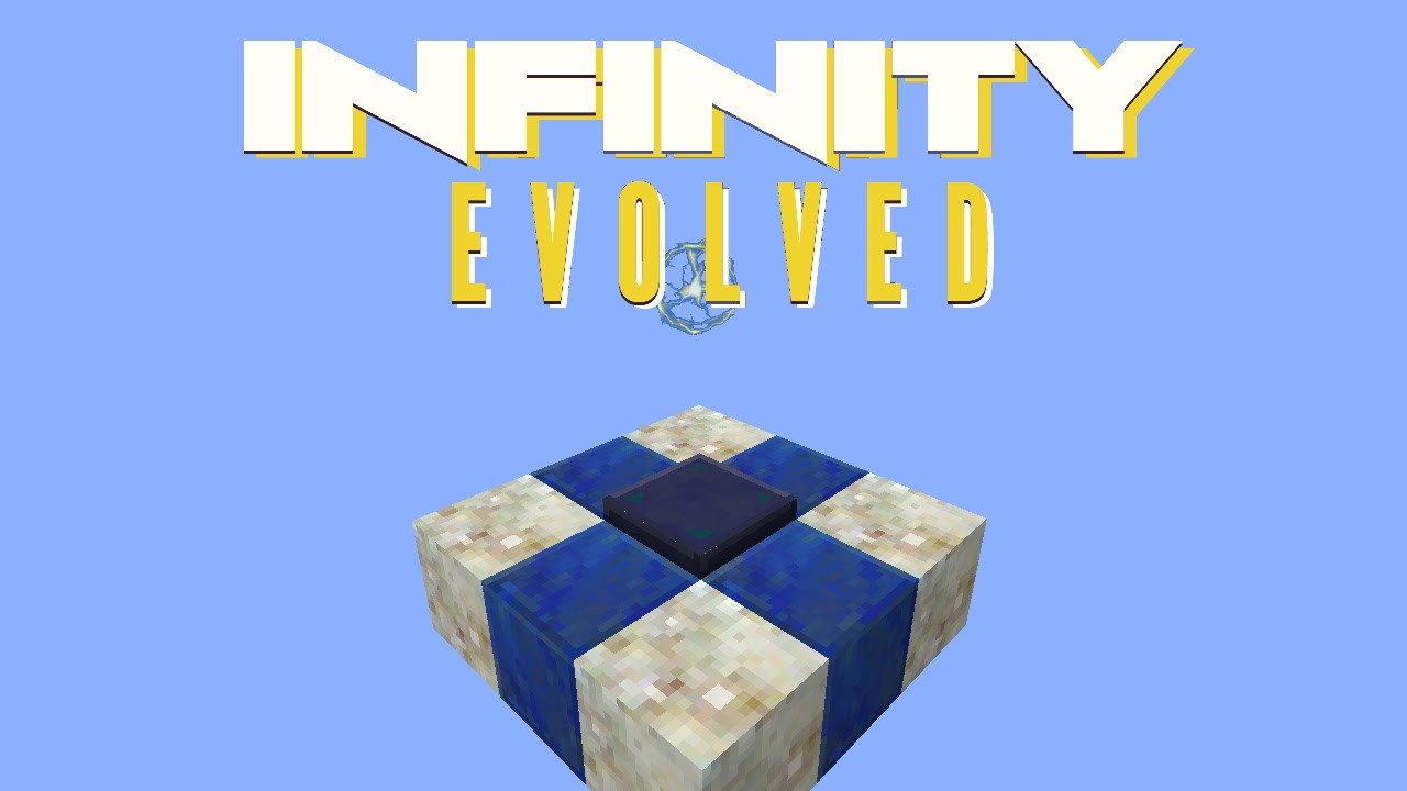 Minecraft Mods FTB Infinity Evolved - VOID METAL & TERRASTEEL [E44