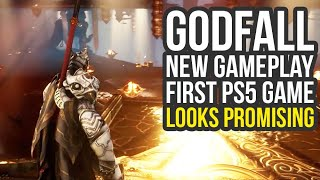 Godfall PS5 Gameplay - NEW FOOTAGE First PlayStation 5 Game (Godfall Gameplay)