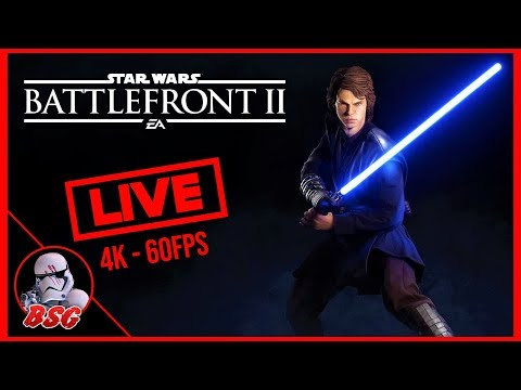 5 Days Till Ani! Star Wars Battlefront 2 PC and XB1X Gameplay | 4K Live Stream (4K 60FPS) thumbnail