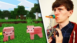 I controlled Minecraft with a kazoo