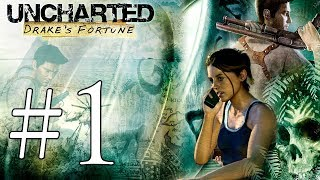 Uncharted Drake's Fortune Blind Playthrough - Part 1 (Let's Play Walkthrough Gameplay)