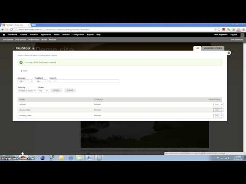 Setup Flexslider in drupal
