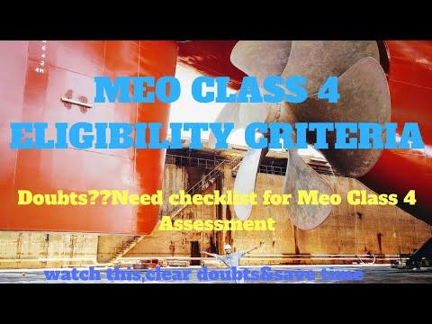 #meoclass4#meo#exam MEO CLASS 4 ELIGIBILITY CRITERIA |MEO CLASS 4
