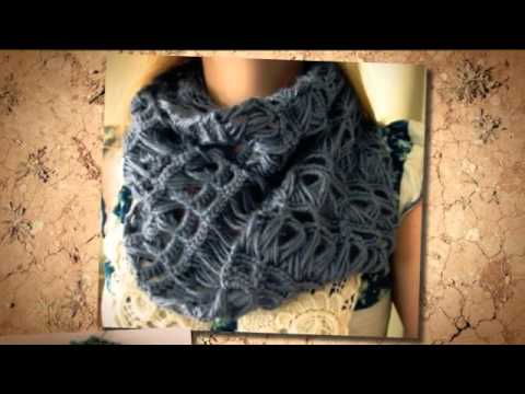 Crochet Scarf Designs: Cute Crochet Scarf Patterns - YouTube