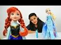 Karlar ülkesi Elsa ve Anna oyuncakları tanıtıyoruz