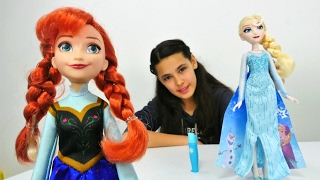 Karlar ülkesi Elsa ve Anna oyuncaklarını tanıtıyoruz