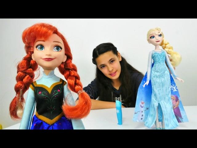 Karlar ülkesi Elsa Ve Anna Oyuncaklarını Tanıtıyoruz Alternative