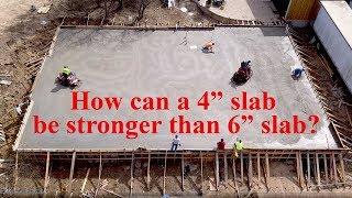 Concrete thickness explained! - The Barndominium show E136