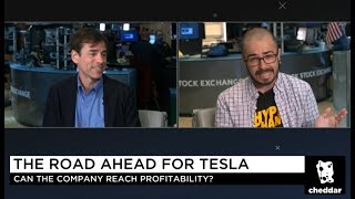 Tesla 🐮vs🐻 Debate: Mark Spiegel & HyperChange Hosted By Cheddar 🧀