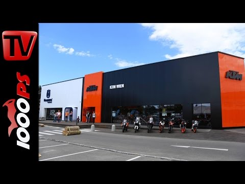 KTM/Husqvarna Flagshipstore Wien Opening Foto