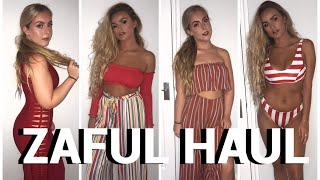 HUGE TRY ON ZAFUL HAUL | HONEST REVIEW | SYD AND ELL