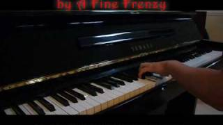Almost Lover - A Fine Frenzy  (Will Ting Piano Cover)