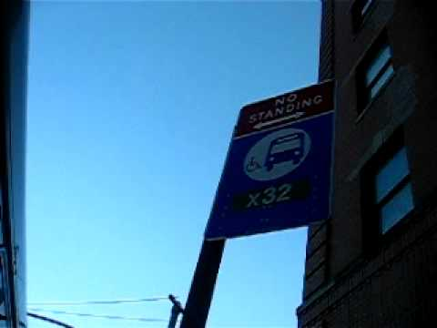 X32 Bronx High School of Science Bus Stop at Merrick Blvd/89th Av
