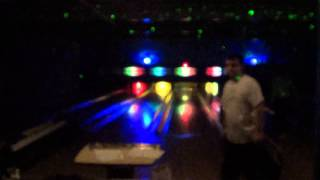 Bowling at Riverwalk Lanes! (From 1/12/14) Part 4 of 4 -- GLOW BOWLING!!