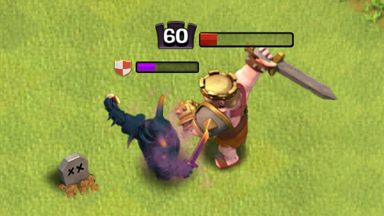 "LVL 60 KING Vs. MAX LVL 8 PEKKA!!! ""Clash Of Clans"" DEATH MATCH!!"