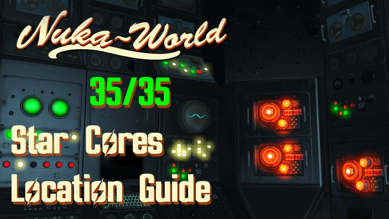 Fo4 Nuka World Map.Nuka World Star Cores Location Guide Youtube