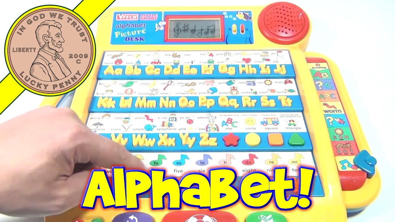 Vtech Numbers And Letters