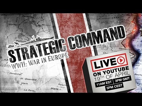 Strategic Command WWII: War in Europe LIVE on Youtube