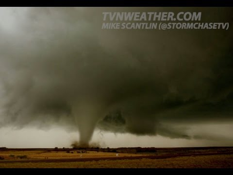 RAW, never-before-seen storm chasing footage - Extreme tornado video