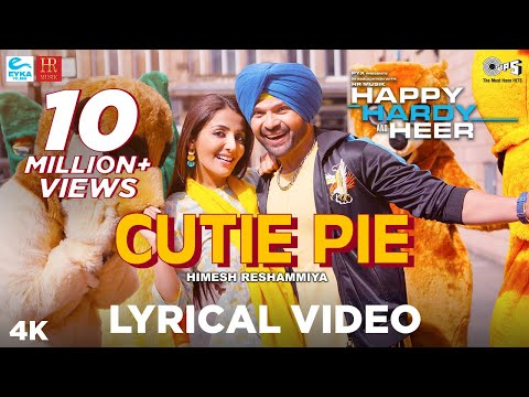 Cutie Pie Lyrical - Happy Hardy And Heer | Himesh Reshammiya & Sonia Mann | Shabbir Ahmed