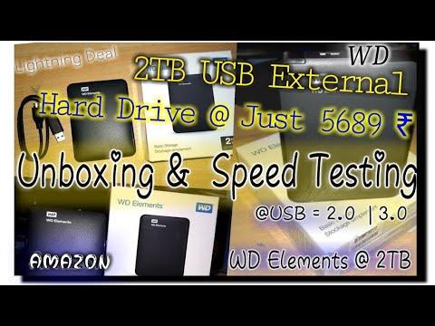 WD Elements 2TB Portable External Hard Drive (Black)