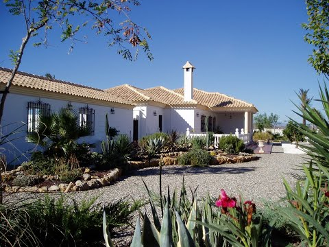 Spanish Property Choice Video Property Tour - Villa A1183, Albox, Almeria. 299,999€ NOW RESERVED!