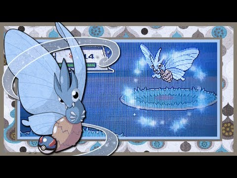 LIVE!! [Repel Trick] Shiny Venomoth in HeartGold after 10547 REs