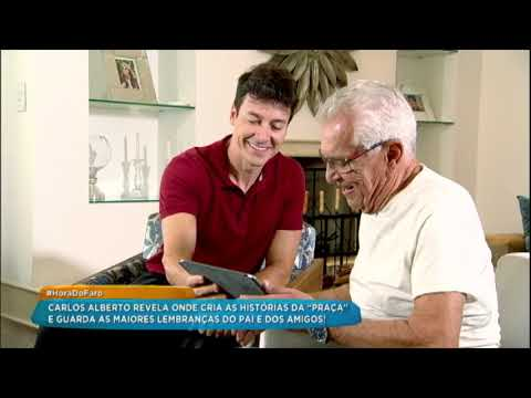 Carlos Alberto de Nóbrega abre detalhes de sua intimidade para Rodrigo Faro